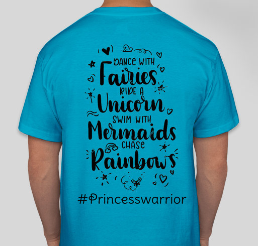 Soldiers for Shawna Fundraiser - unisex shirt design - back