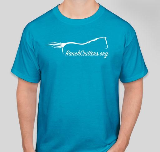 HeeHaw Ranch - Ranch Critters Fundraiser - unisex shirt design - front