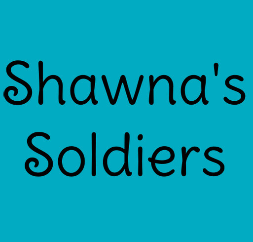 Soldiers for Shawna shirt design - zoomed