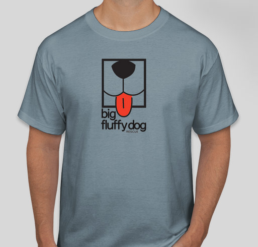 Big Fluffy Dog Rescue T-Shirts Fundraiser - unisex shirt design - front