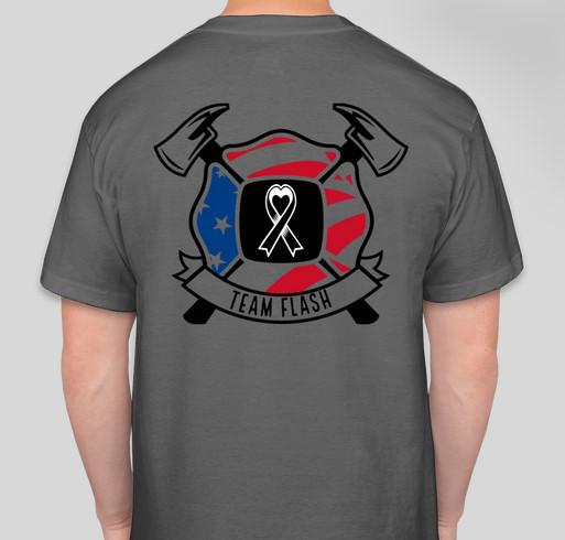 Team Flash vs. Cancer Fundraiser - unisex shirt design - back