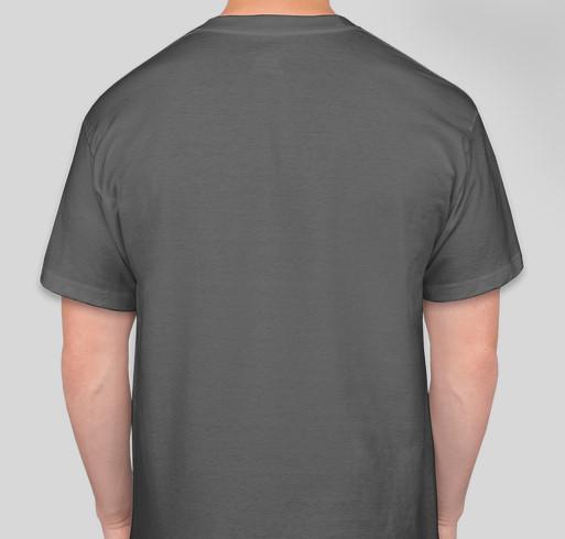 Nevada Child Seekers - Be Brave Shirt Fundraiser Fundraiser - unisex shirt design - back