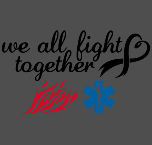Team Flash vs. Cancer shirt design - zoomed