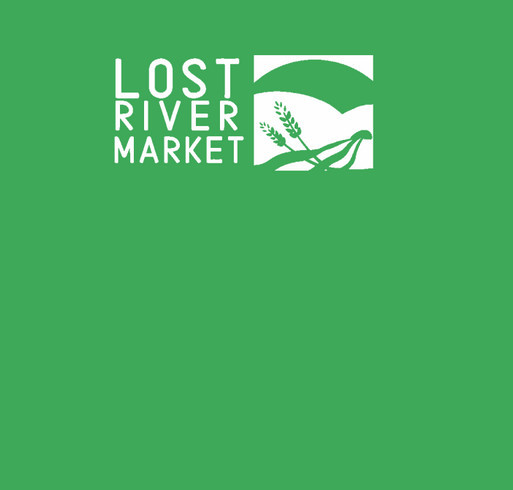 Support Lost River Market - buy a t-shirt! shirt design - zoomed