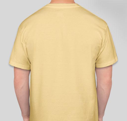 I AM A SOVEREIGN DIVINE BEING Fundraiser - unisex shirt design - back
