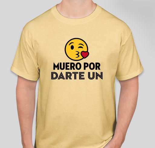 Beso Music Video Fundraiser - unisex shirt design - front