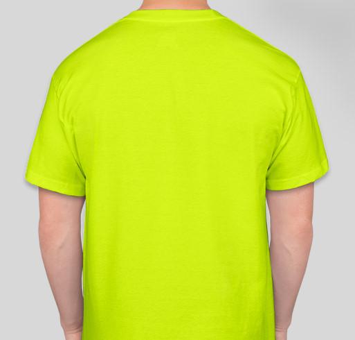 Miles for Maya Fundraiser - unisex shirt design - back