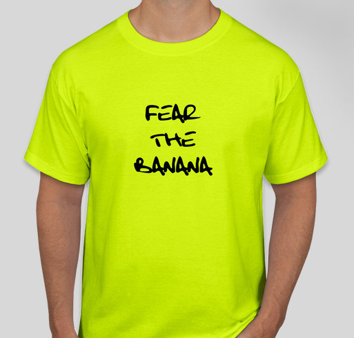Team Banana Fundraiser - unisex shirt design - front