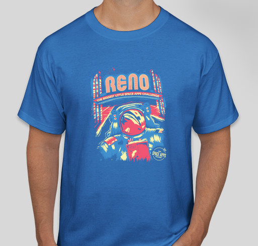 Space apps reno 2016 limited edition t shirt custom ink for Reno t shirt printing