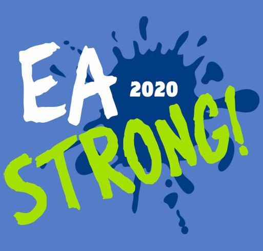 EA Strong! 2020 shirt design - zoomed