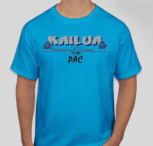 Kailua Intermediate Jr.Surf PAC Fundraiser - unisex shirt design - front