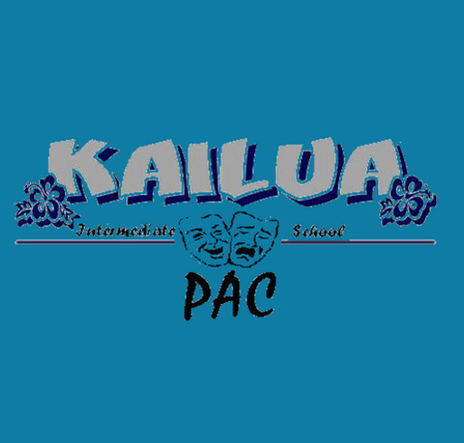 Kailua Intermediate Jr.Surf PAC shirt design - zoomed