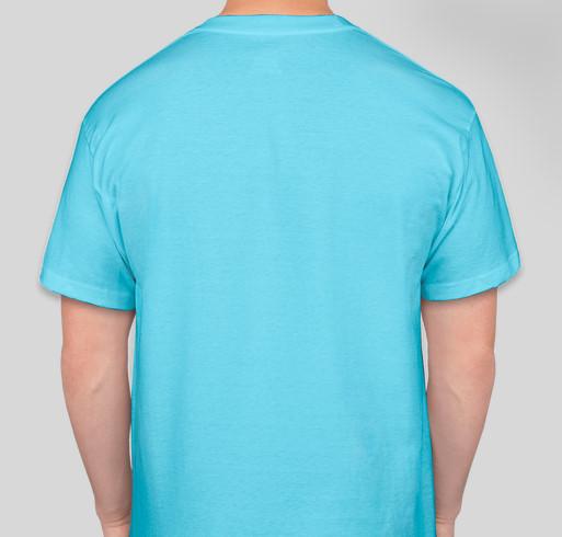2020 AKC European Open Team Fundraiser Fundraiser - unisex shirt design - back