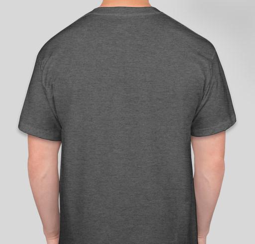 St Jude Heroes - running the Dark Side to help St. Jude Children's Research Hospital Fundraiser - unisex shirt design - back