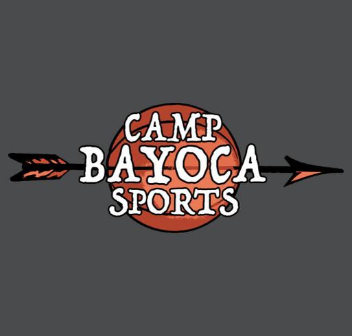 Camp Ba Yo Ca - Building a New Basketball Court shirt design - zoomed