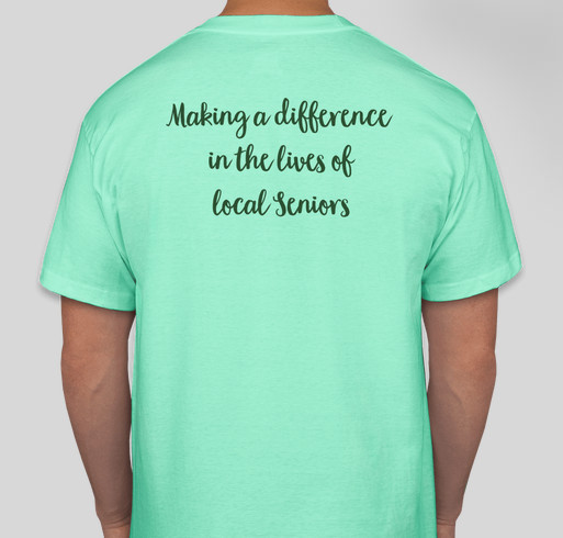 Caleb Caregivers is Celebrating 25 Years of Making a Difference in the Lives of Local Seniors Fundraiser - unisex shirt design - back