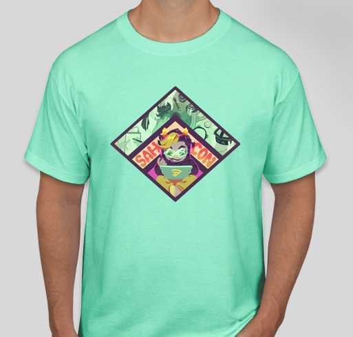 Stuck At Home Con 2021 Charity Fundraiser! Fundraiser - unisex shirt design - front