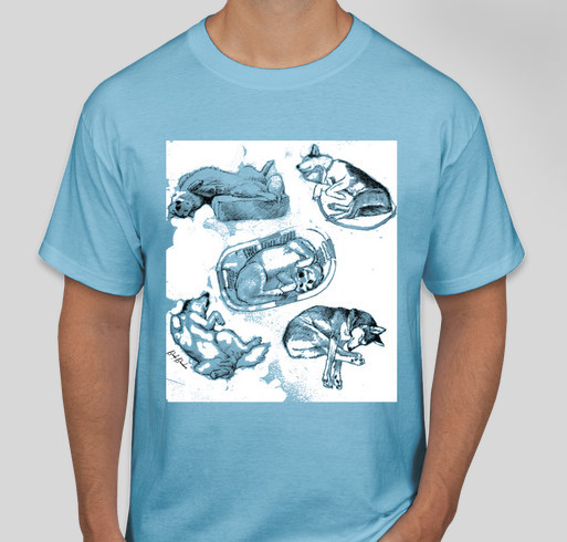 Save Our Siberians - Siberspace Rescue Fund Fundraiser - unisex shirt design - front