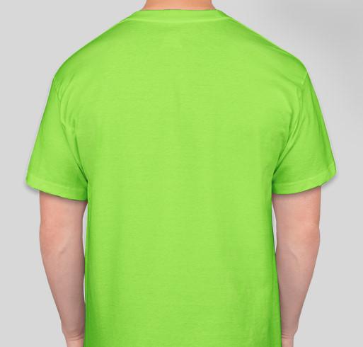 Easy Peasy All-in-One Homeschool Fundraiser - unisex shirt design - back