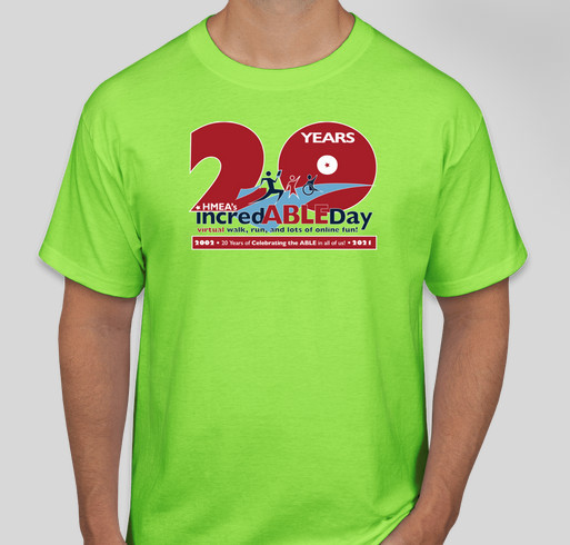 HMEA commemorative 20thAnniversay incredABLE Day Tees & Hoodies