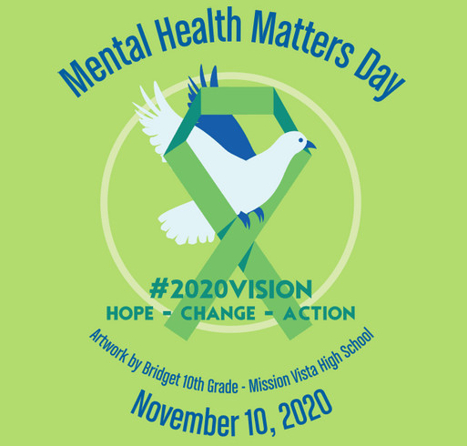 2020 Mental Health Matters Day Commemorative T-Shirt! shirt design - zoomed