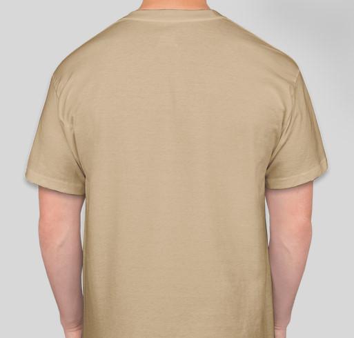 2021 Bay Area Black Deaf Advocates (BABDA) T-shirt Fundraiser Fundraiser - unisex shirt design - back