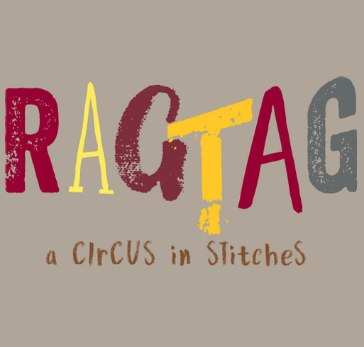 RagTag: Taking the Show on the Road! shirt design - zoomed