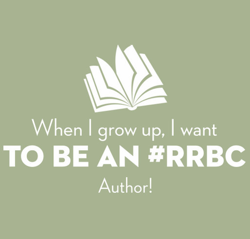 When I Grow Up I Want To Be An #RRBC Author! shirt design - zoomed