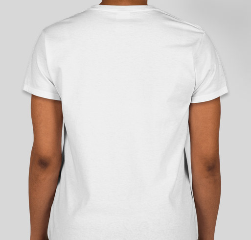 Let's spread the message to End the Stigma Fundraiser - unisex shirt design - back