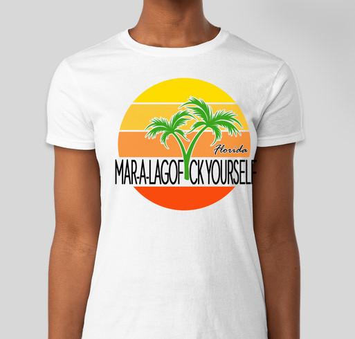 Mar-a-LaGOF*CKYOURSELF Fundraiser - unisex shirt design - front