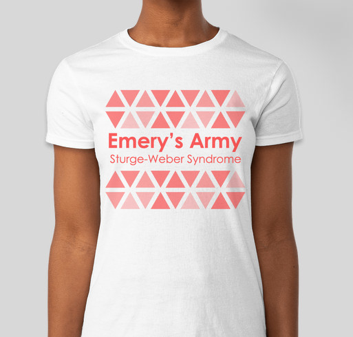 Emery's Army: Sturge-Weber Awareness Fundraiser - unisex shirt design - front