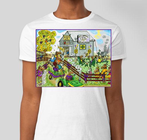 Old Friends Fall T Shirt Fundraiser Fundraiser - unisex shirt design - front