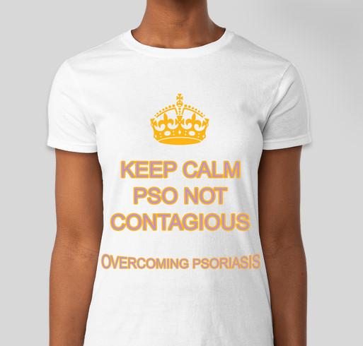 Overcoming Psoriasis Fundraiser - unisex shirt design - front