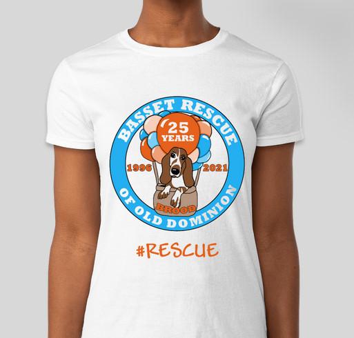 BROOD 25th Anniversary Fundraiser - unisex shirt design - front