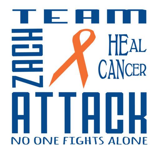 Team Zach Attack shirt design - zoomed