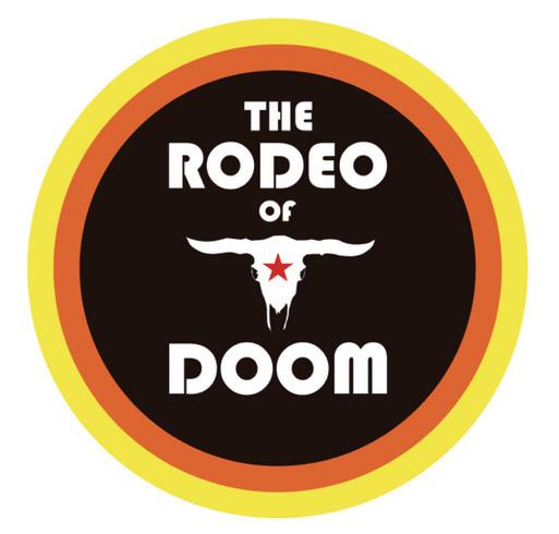 The Rodeo of Doom (Audio Book) Fund Raiser shirt design - zoomed