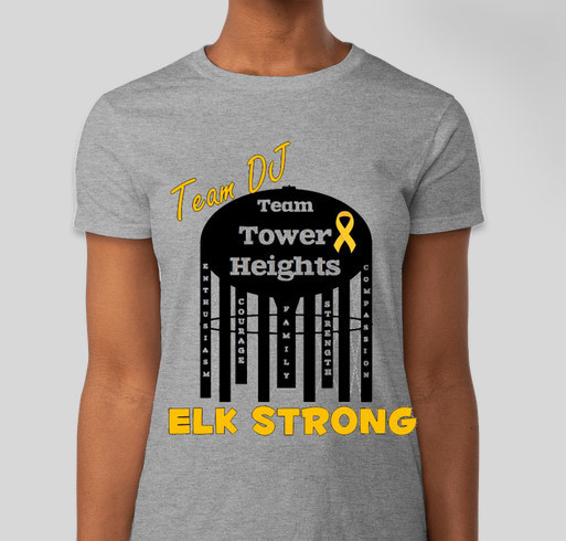 Team tower heights relay recess relay for life custom ink for Relay for life t shirt designs