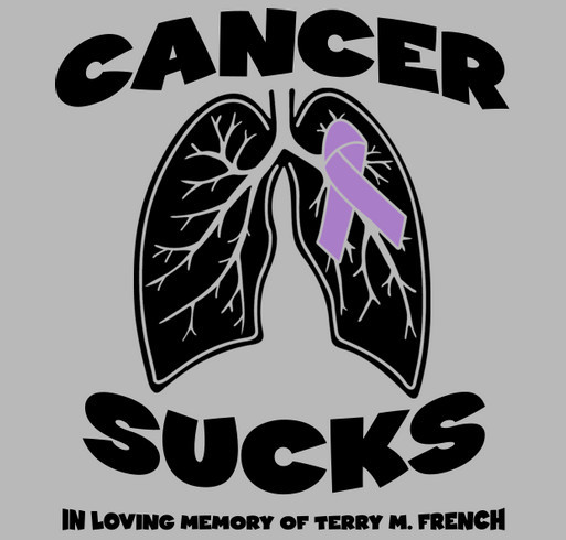 Terry M. French Funeral Expense Fundraiser shirt design - zoomed