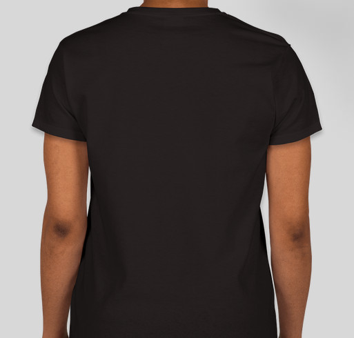 Be The Yellow Fundraiser - unisex shirt design - back