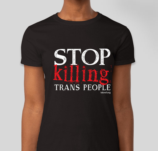 Trans Day of Remembrance 2017 Fundraiser - unisex shirt design - front