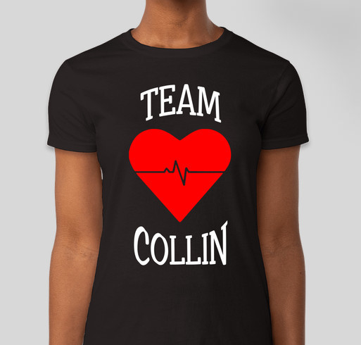 Team Collin Fundraiser - unisex shirt design - front