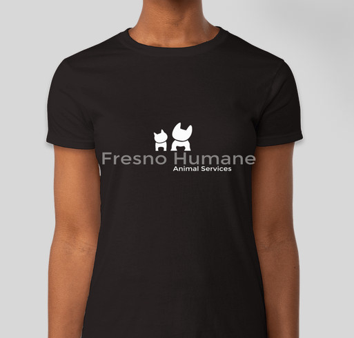 Show your support for fresno humane animal services custom for T shirt printing fresno