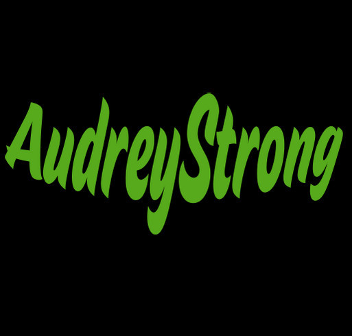 Audrey Strong shirt design - zoomed