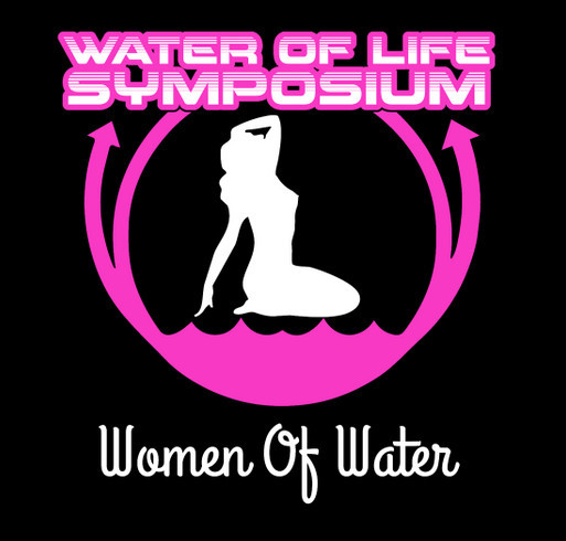 WOLS Women Of Water shirt design - zoomed