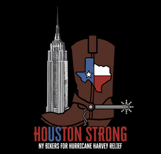 Empire Harley-Davidson NY Bikers For Hurricane Harvey & Irma Relief shirt design - zoomed
