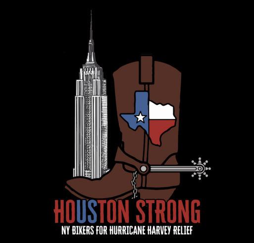 Empire Harley-Davidson NY Bikers For Hurricane Harvey & Irma Relief shirt design - zoomed