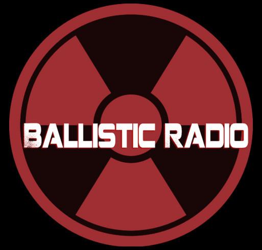 The Ballistic Radio Robin Hopkins Fund shirt design - zoomed