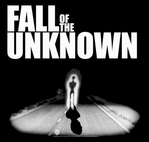 Fall Of The Unknown Indie Film Project shirt design - zoomed