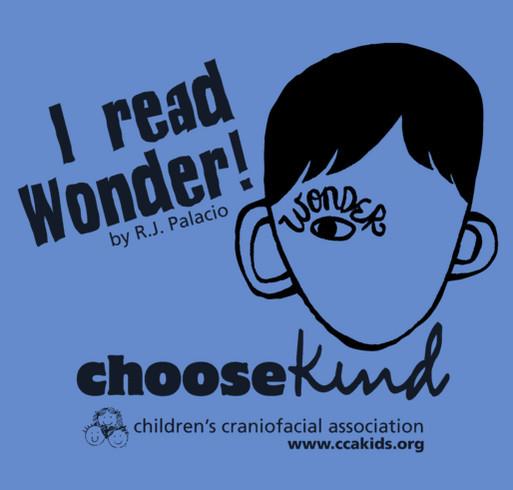 Choose Kind for CCA Kids! shirt design - zoomed