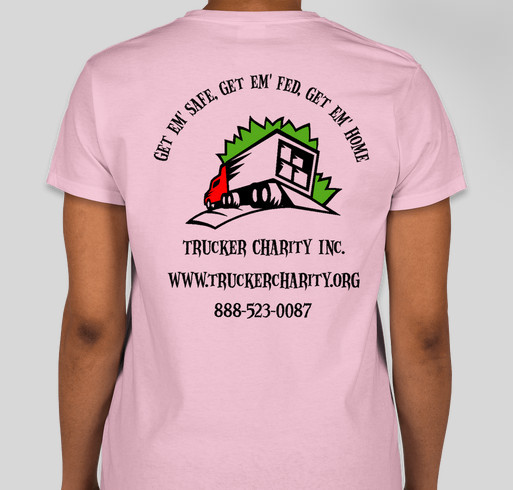 Trucker Charity Inc Fundraiser - unisex shirt design - back